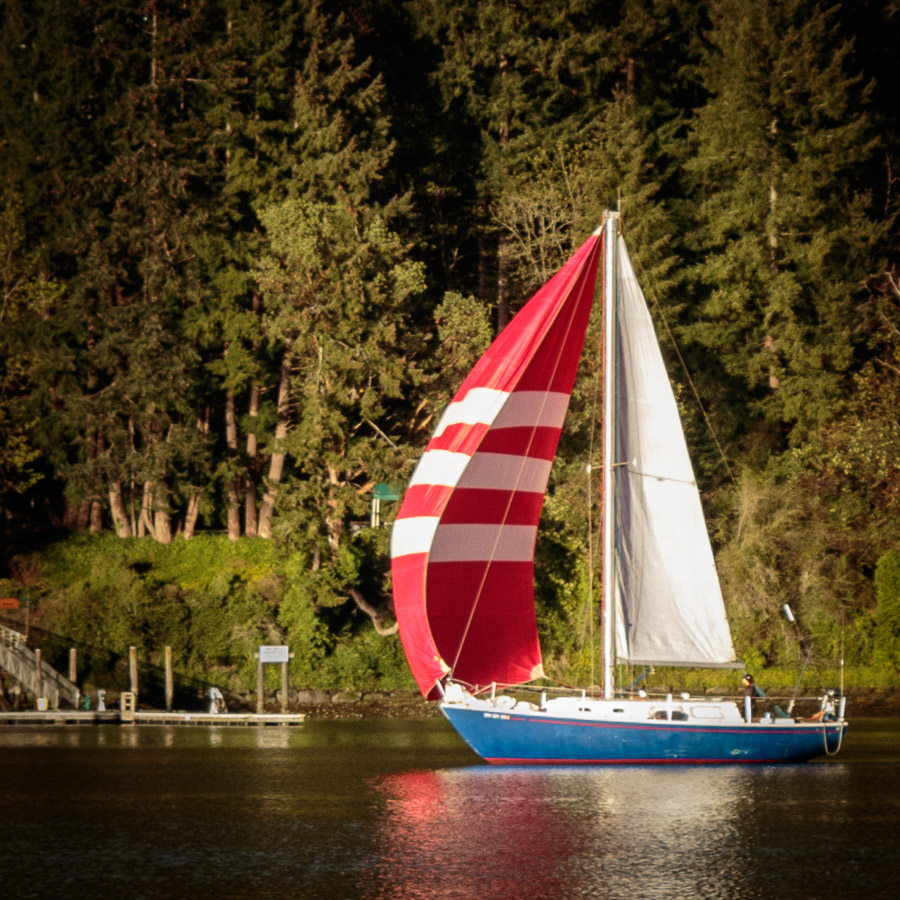 Red Sails and Sunsets