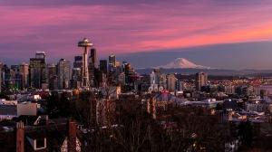 January in Seattle